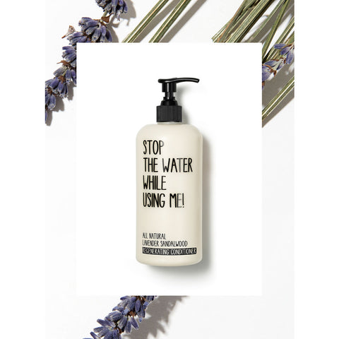 Stop the Water While Using Me! Regenerating Conditioner | Lavender Sandalwood