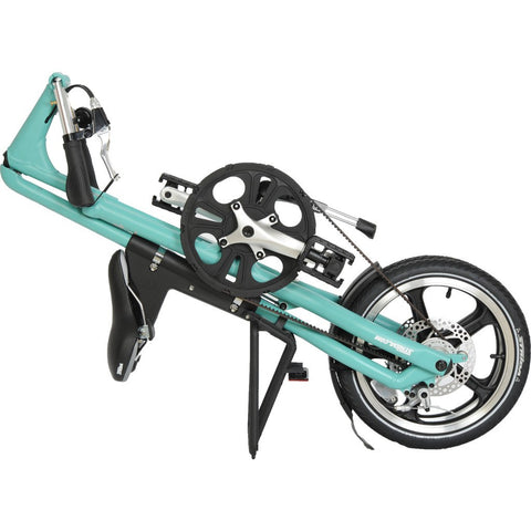 STRiDA LT Folding Bicycle | Turquoise ST1608-1-MI