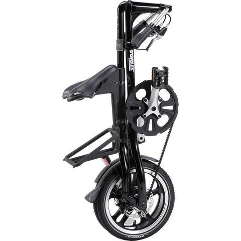 STRiDA LT Folding Bicycle | Black ST1606-1-MI