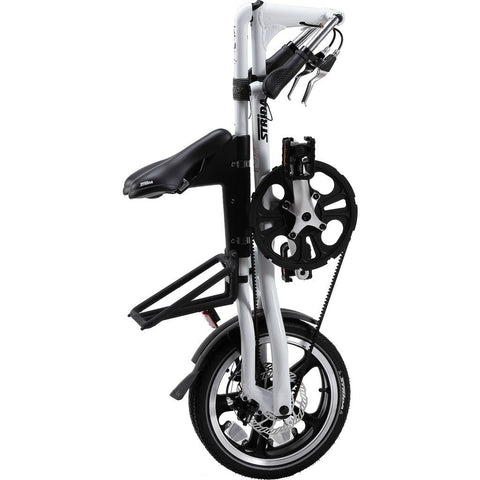 STRiDA LT Folding Bicycle | White ST1602-1-MI