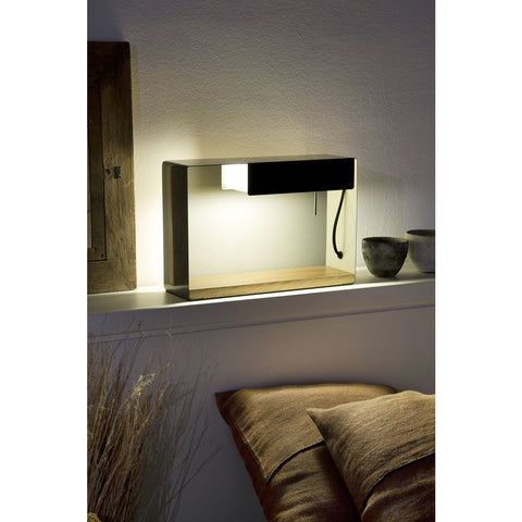 Marset La Discrete Wall Light | Brown Gray
