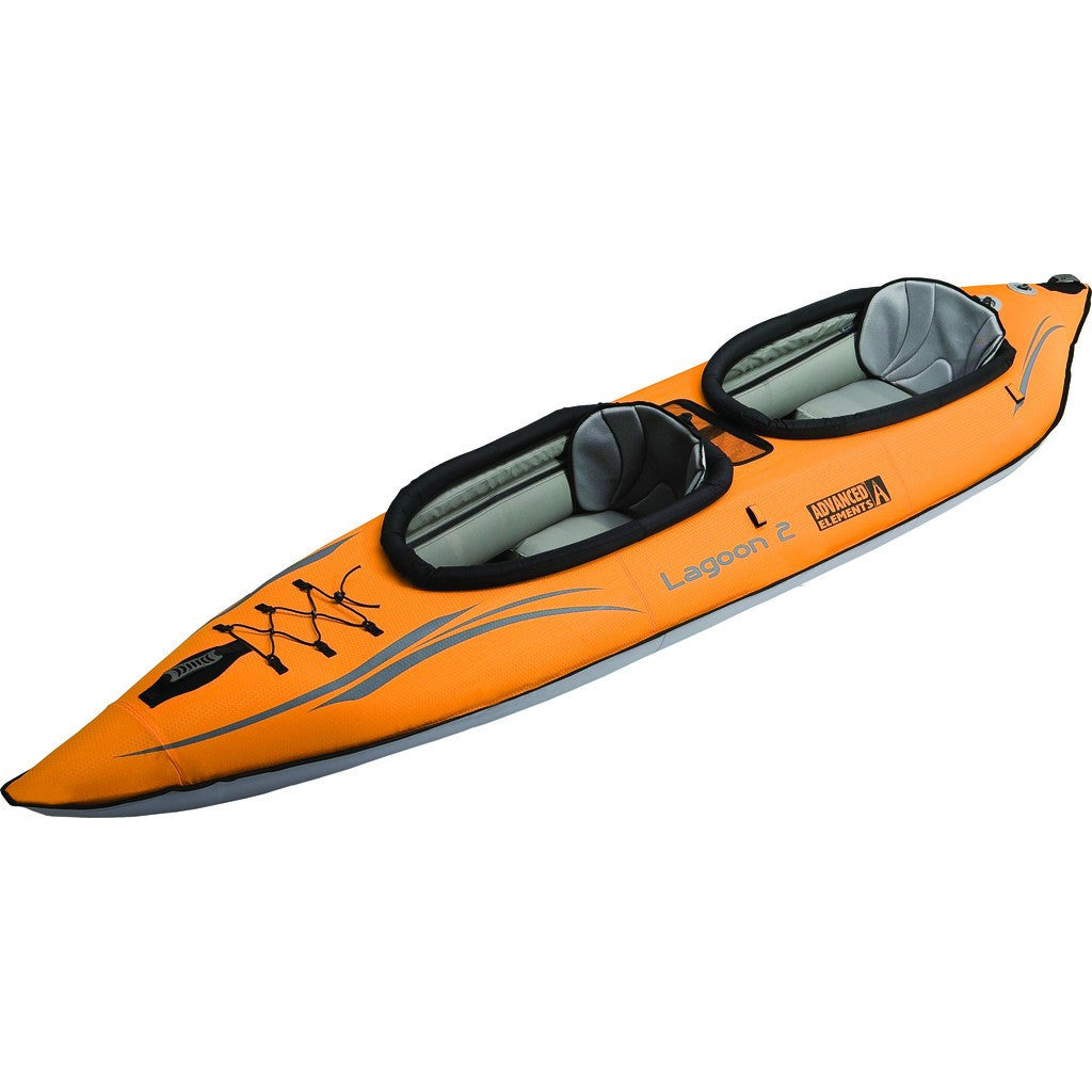 Advanced Elements Lagoon2 Kayak | Orange Gray AE1033-O