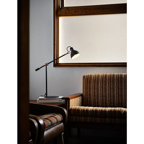 Seed Design Laito Gentle Table Lamp | Navy/Copper