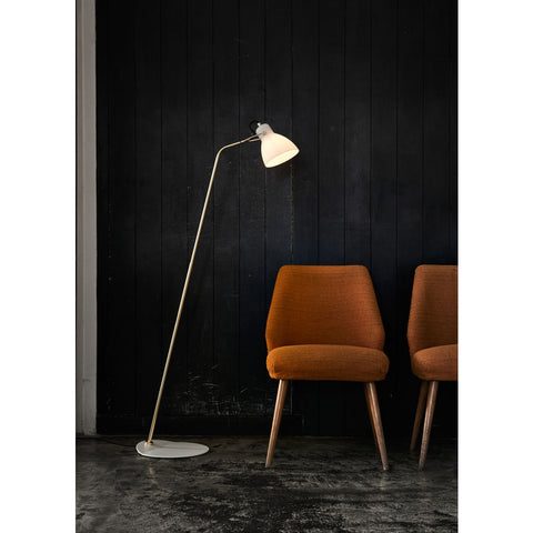 Seed Design Laito Opal Floor Lamp | Opal/Brass