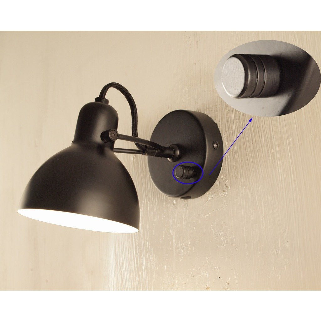 Seed Design Laito Wall Lamp | Black