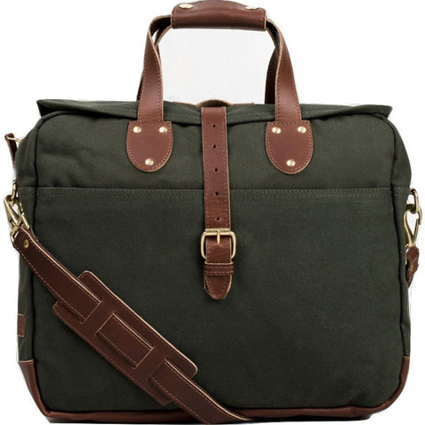 United By Blue Lakeland Laptop Messenger Bag | Moss LAKELAND-MS
