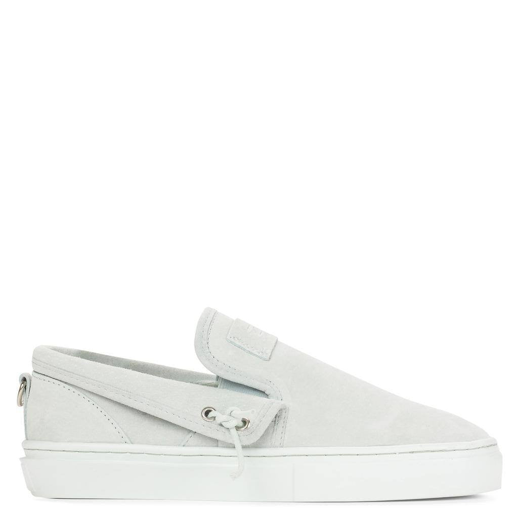 Clear Weather Lakota Slip On Shoes | Pale Blue Suede CRW-001-PBL
