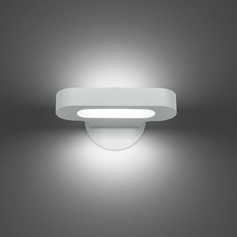 Artemide Design Talo Mini 21 Warm LED Wall Light | White 0615W18A
