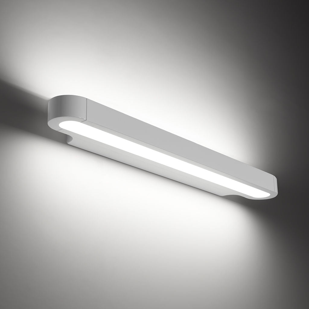 artemide design talo 60 led wall light gloss white