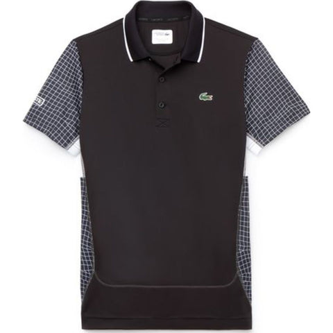 Lacoste Men's Ultra Dry Polo | Inkwell/Black-Black-Black Dh9476_E84 M