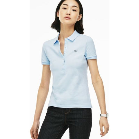 Lacoste Slim Fit Stretch Cotton Pique Women's Polo Shirt | Rill