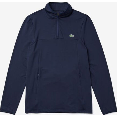 Lacoste Sport Men's 1/4 Zippered Midlayer Sweatshirt