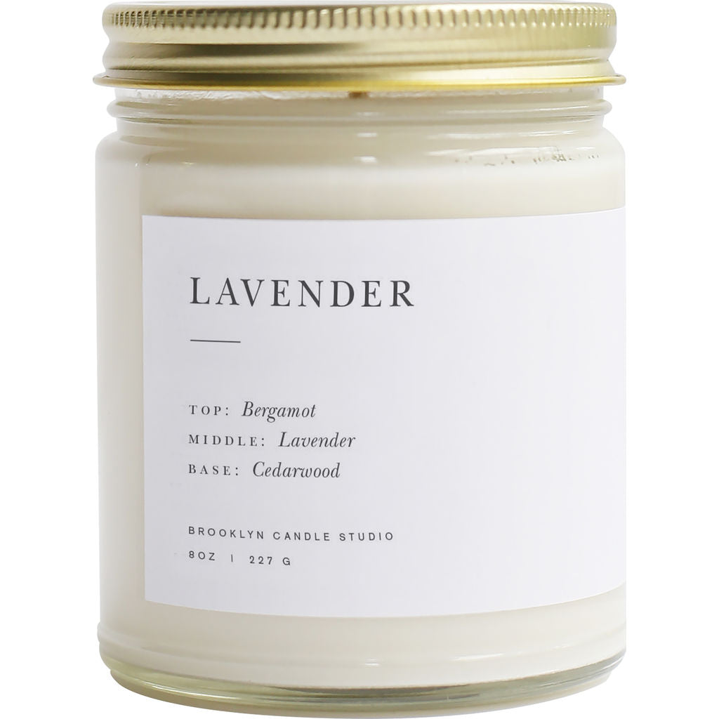 Brooklyn Candle Studio Minimalist Candle | Lavender