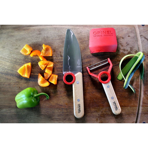 Opinel Le Petit Chef Set | Red