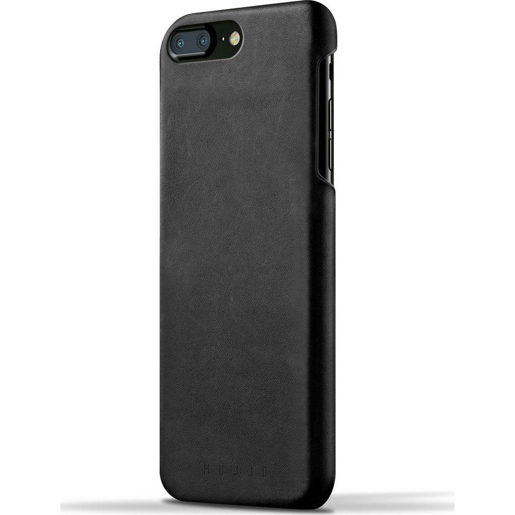 Mujjo Leather Case for iPhone 7 Plus | Black MUJJO-CS-024-BK