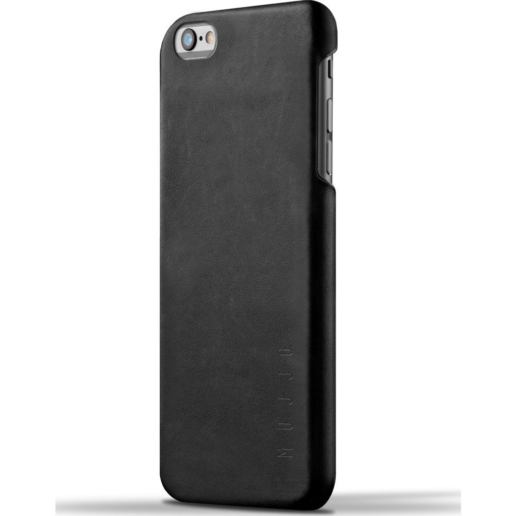Mujjo Leather Case for iPhone 6(s) Plus | Black MUJJO-SL-087-BK