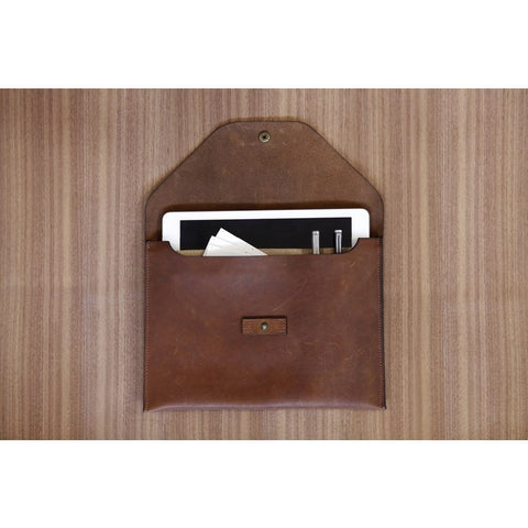 DODOcase Tablet Leather Portfolio | Brown