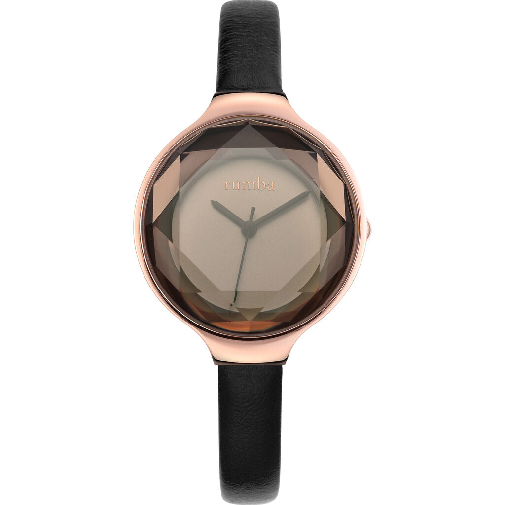 Rumba Time Orchard Gem Watch | Leather Black  27532