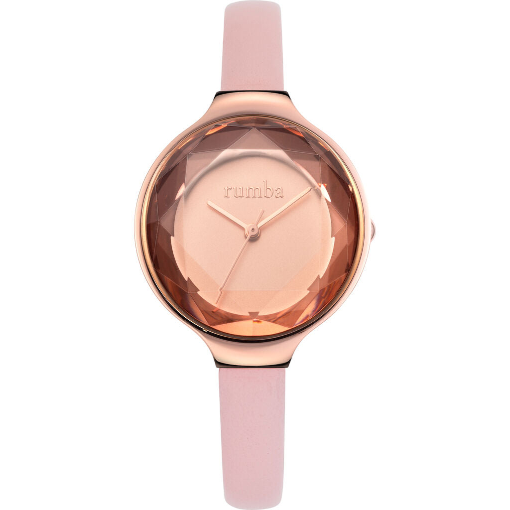 Rumba Time Orchard Gem Watch | Leather Rose Gold 27549