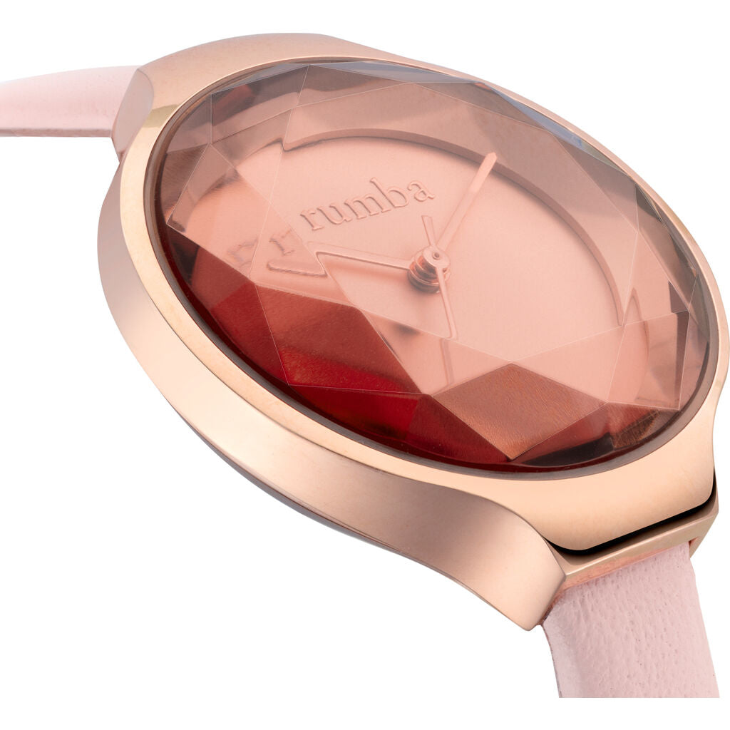 Rumba Time Orchard Gem Watch | Leather Rose Gold 27550