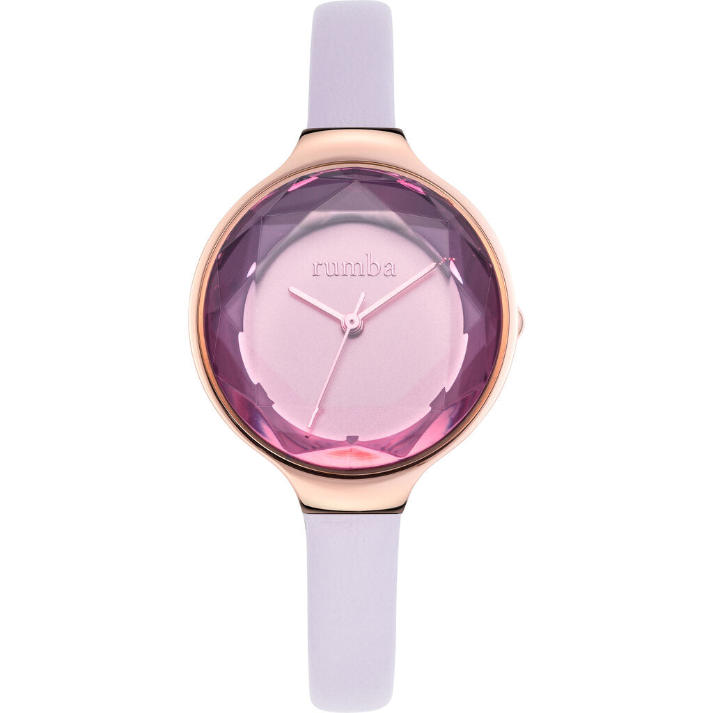 Rumba Time Orchard Gem Watch | Leather Lavender 27556
