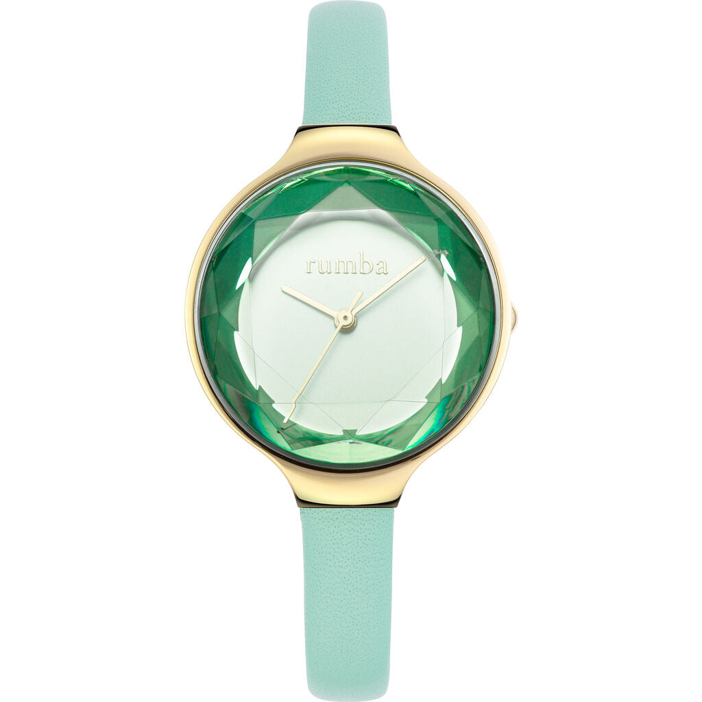 Rumba Time Orchard Gem Watch | Leather Seafoam 28072