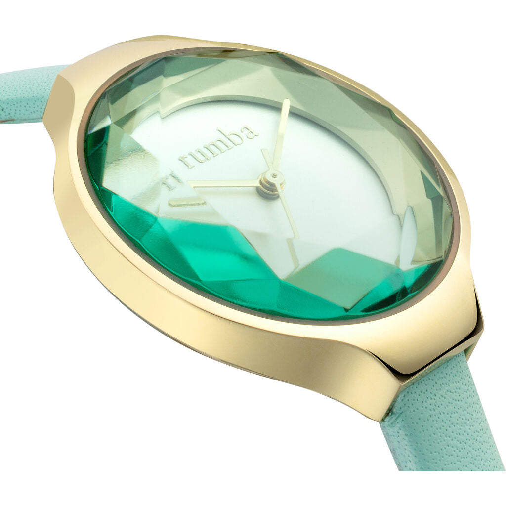 Rumba Time Orchard Gem Watch | Leather Seafoam 28073