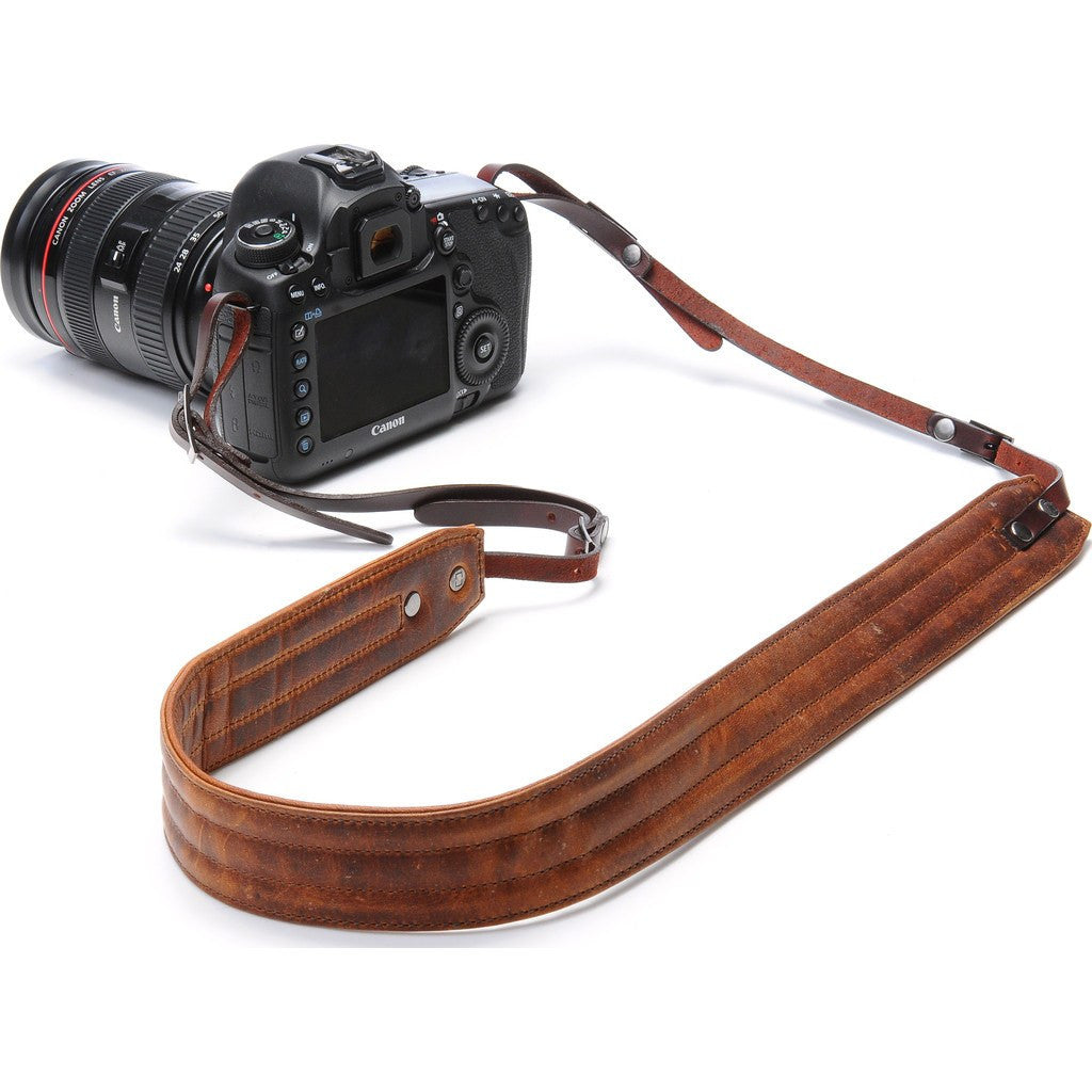 Ona Bags Presidio Camera Strap | Antique Cognac ONA023LBR