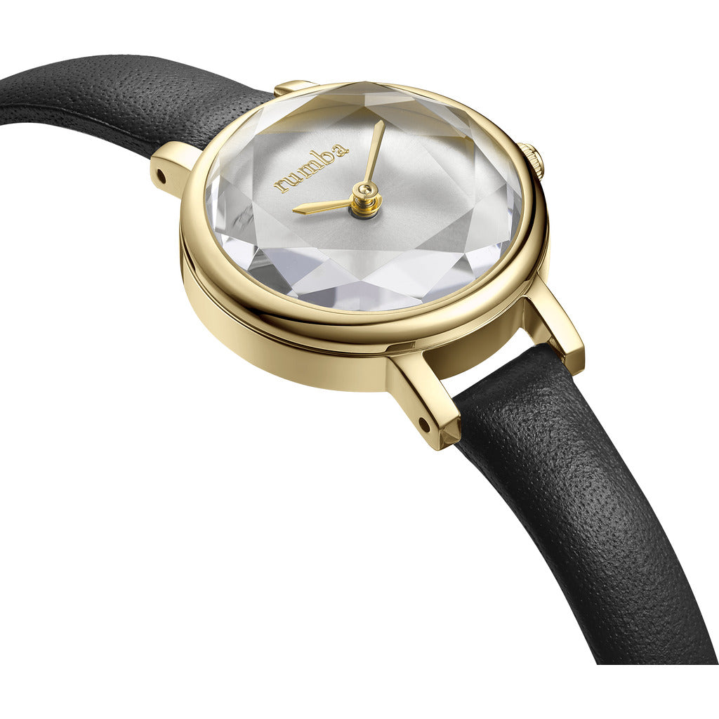 Rumba Time Venice Watch | Leather Gold 27489