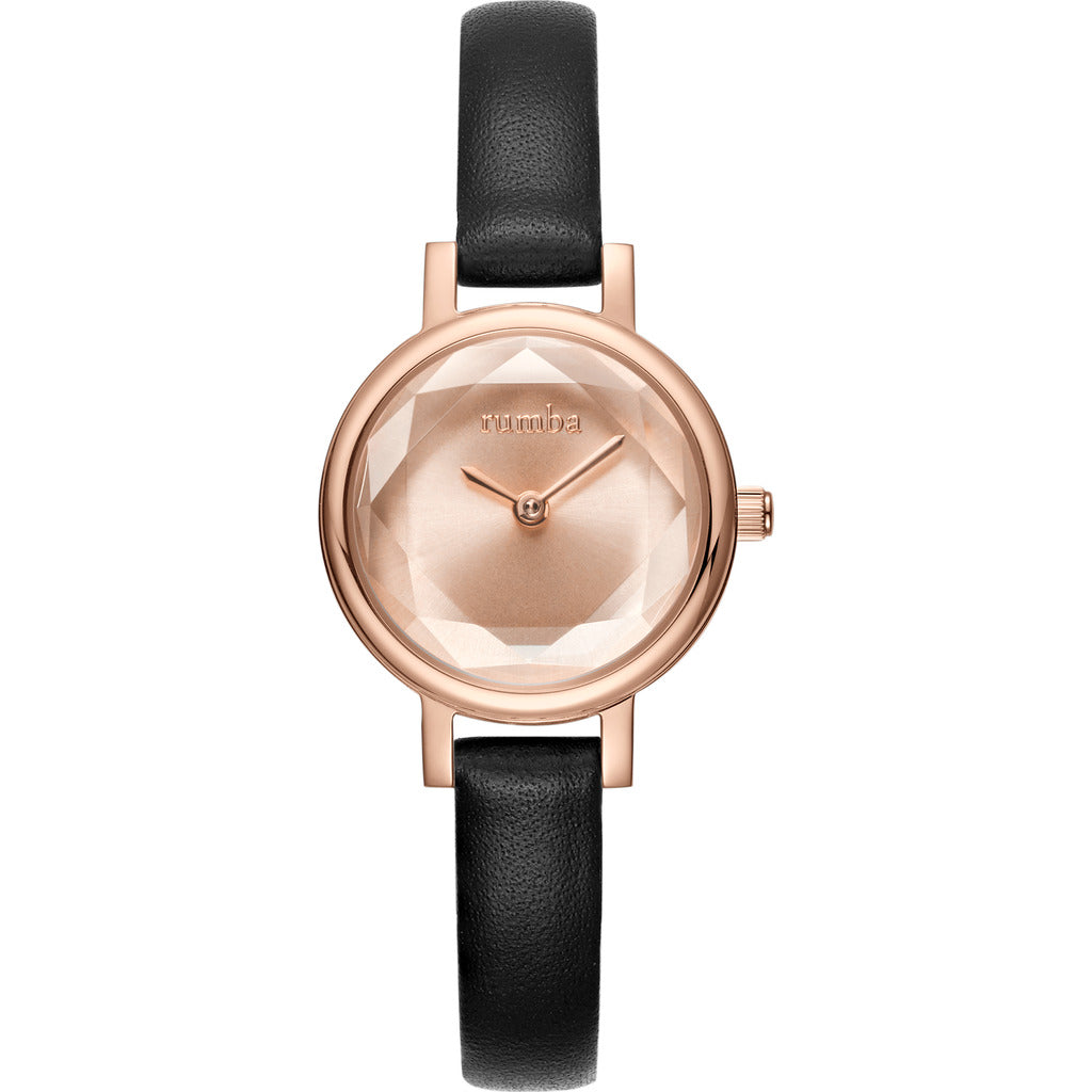 Rumba Time Venice Watch | Leather Rose Gold 27495