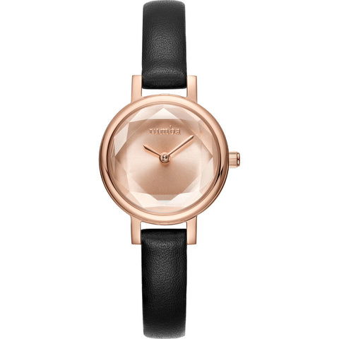 Rumba Time Venice Watch | Leather Gold 27488