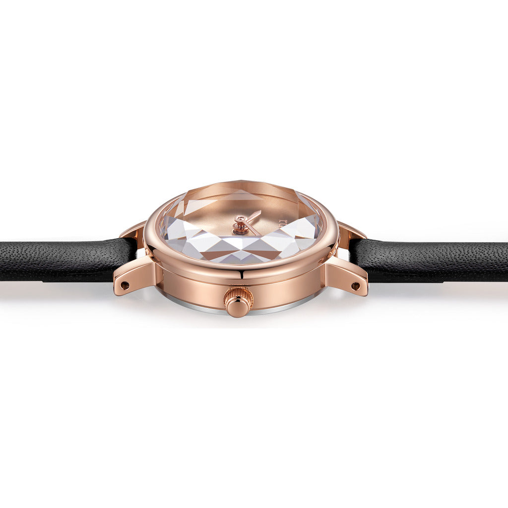 Rumba Time Venice Watch | Leather Rose Gold 27497