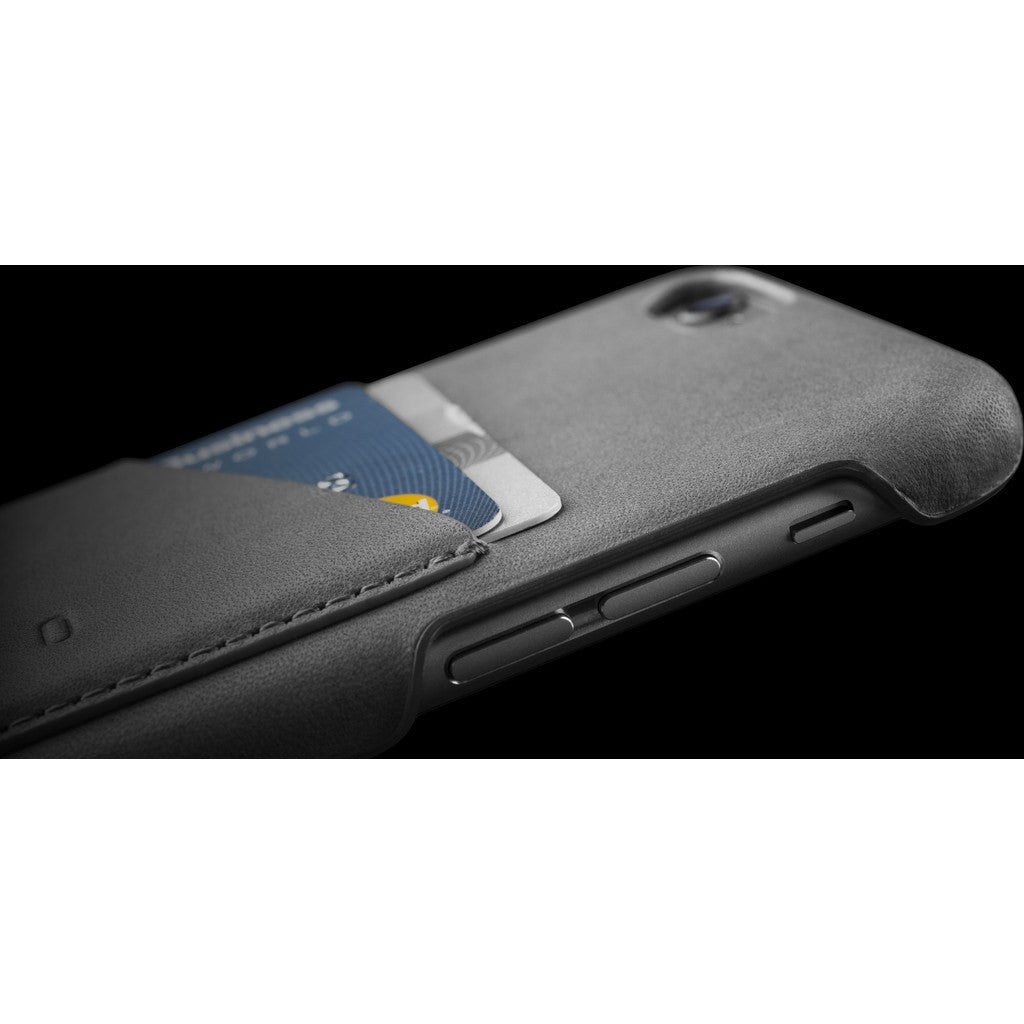 Mujjo Leather Wallet Case for iPhone 6(s) | Gray MUJJO-SL-082-GY