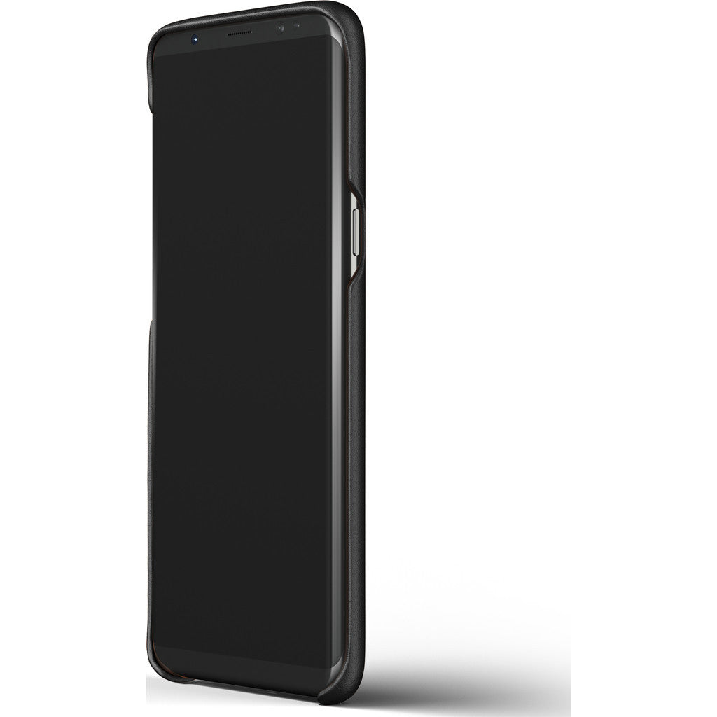 promo code d2834 16d29 Mujjo Leather Case for Galaxy S8 Plus | Black