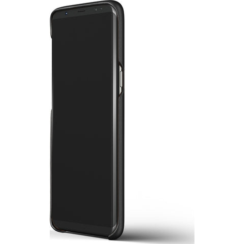 Mujjo Leather Case for Galaxy S8 Plus | Black-MUJJO-CS-064-BK