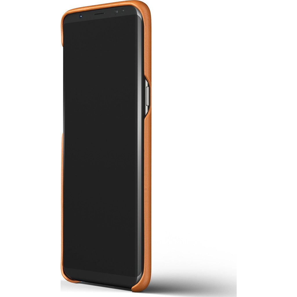 newest 279ae 5c051 Mujjo Leather Case for Galaxy S8 Plus | Saddle Tan