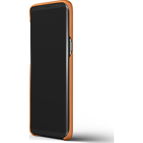 Mujjo Leather Case for Galaxy S8 Plus | Saddle Tan-MUJJO-CS-064-ST