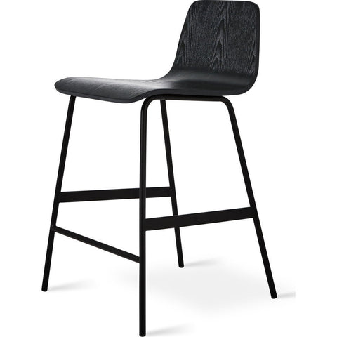 Gus* Modern Lecture Stool | Black Ash ECOTLECT-ab