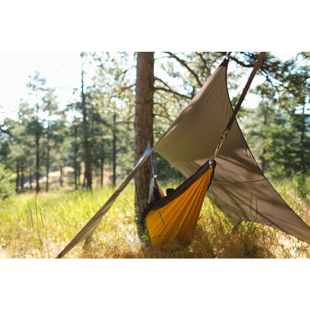 Kammok Glider Weather Resistant Shelter for Hammock | Stone Grey