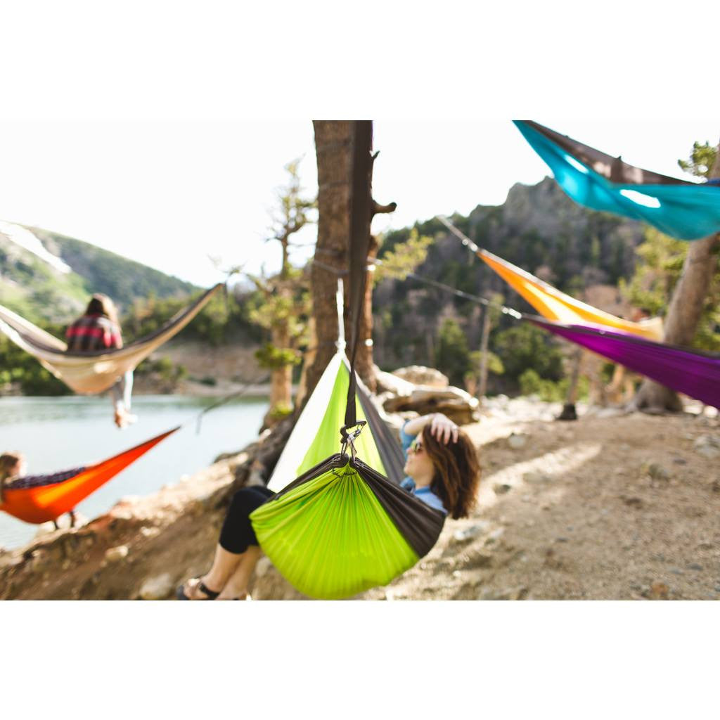Kammok Roo Outdoor Hammock | Gold Coast/Stone Gray