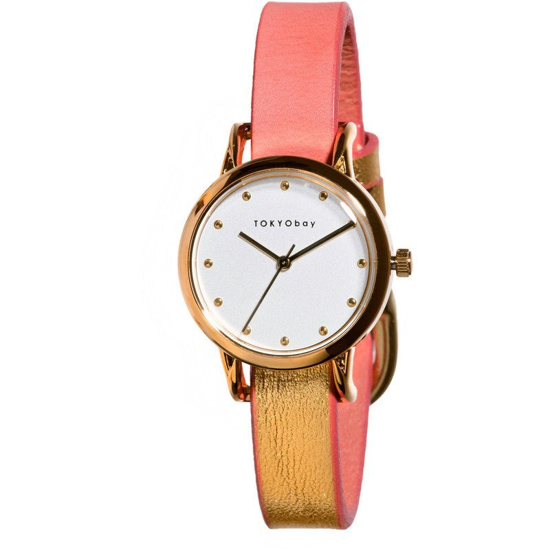 TOKYObay Lily Women's Watch | Coral