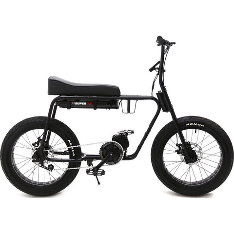 Lithium Cycles American Made Super 73 Electric Motorbike | Matte Black LCS73G