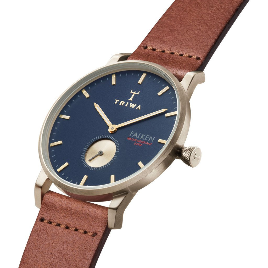 Triwa Loch Falken Watch | Brown Classic FAST104CL010218