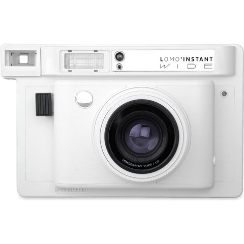 Lomography Lomo'Instant Wide Camera Combo | White li900w