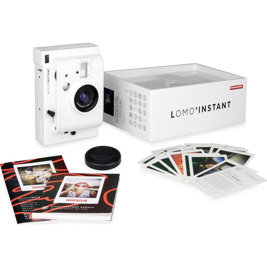Lomography Lomo'Instant Camera & Lenses | White li800w