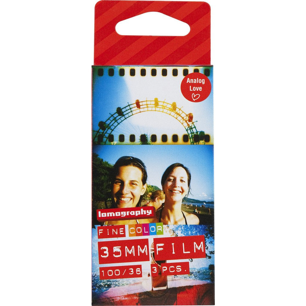 Lomography Color Negative 100/135/36 Film | 3-Pack F136BW4