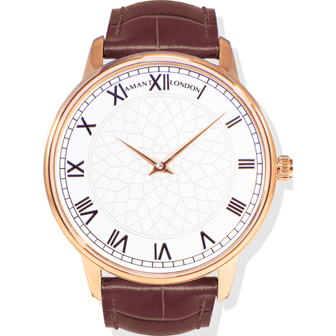 AMANT London Gold Watch | Sienna Brown