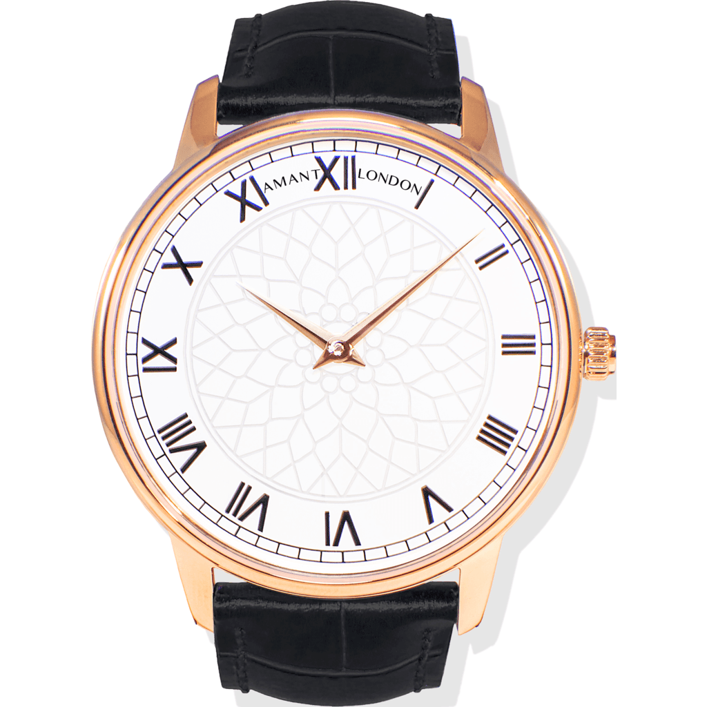 AMANT London Gold Watch | Black