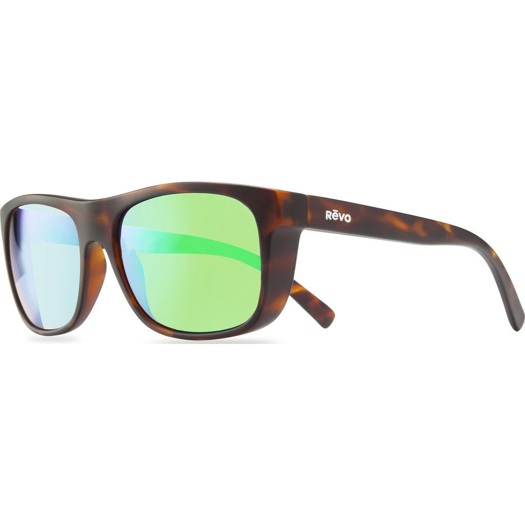Revo Eyewear Lukee Dark Tortoise Sunglasses | Green Water RE 1020 02 GN