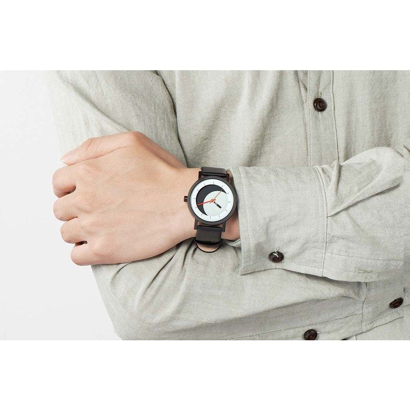 Projects Watches Alex Garzon Lunaround Watch | Black